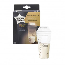 Tommee Tippee Bags for storing milk 36 pieces