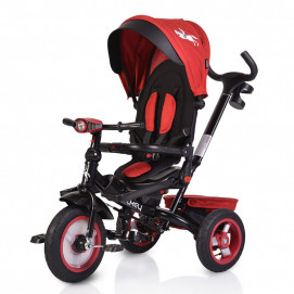 BYOX Tricycle JOCKEY with a music board Red