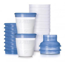 Philips Avent Breast Milk Containers Via 10 pcs. Philips Avent