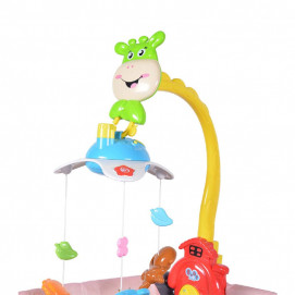 Moni Toys Musical carousel with projector Fawn