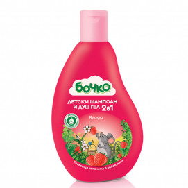 Bochko Children's shampoo and shower gel 2 in 1 Strawberry 250 ml