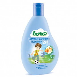 Bochko Children's shampoo and shower gel 2in1 with vitamin B3 3g + 250ml