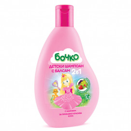Bochko Children's shampoo with 2in1 balm with panthenol 3years+ 250 ml