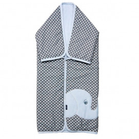 Womar Multifunctional cover Elephant grey and blue