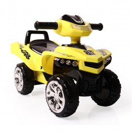 Moni Pushing car ATV No Fear yellow