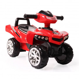 Moni Pushing car ATV No Fear red