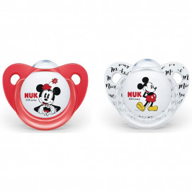 Nuk Silicone pacifiers Minnie 6-18m. 2 pcs