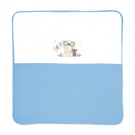 Lorelli Cotton diaper Za za 90x90cm. blue